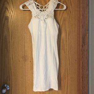 Victoria's Secret white sweetheart dress, sz S